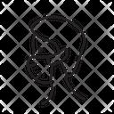 Coronavirus Wear Mask Virus Icon