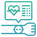 Wearable Devices Wearable Technology Heart Rate Icon