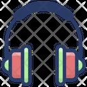 Wearable Headphones Device Icon