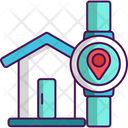 Wearable Technology Smart Home Smart Watch Icon