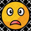 Weary Fatigue Sad Icon