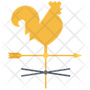 Weather Vane Agriculture Icon