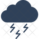 Climate Cloud Thunder Icon