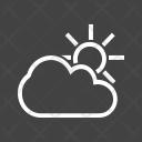 Weather Season Sunny Icon