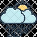 Weather Rain Forecast Icon
