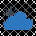 Cloud Weather Sun Icon