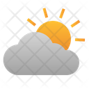 Sun Cloud Weather Icon