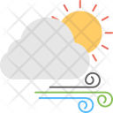Weather Cloud Winds Icon
