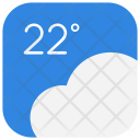 Weather Forecast Cloud Icon