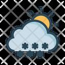 Sun Weather Cloud Icon