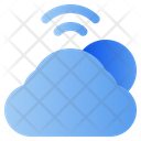 Weather Cloud Network Icon