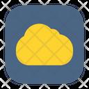 Weather Cloud Storage Icon