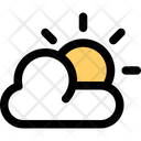Weather Cloud Sunny Icon