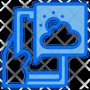 Weather App Smartphone Icon
