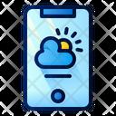 Weather App Phone Icon