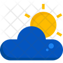Weather Sun Cloud Icon
