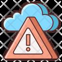 Weather Alert Danger Weather Alert Icon