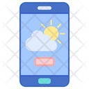 Weather App Mobile App Weather Information Icon