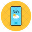 Weather App Weather Forecast Mobile App Icon