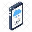 Mobile Weather App Weather Forecast Weather App Icon