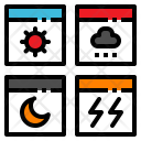 App Application Weather Icon