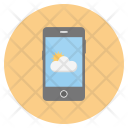 Mobile Cloud Forecast Icon