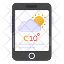 Mobile Application Weather Application Forecast Application Icon