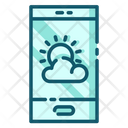 Weather Apps Mobile Application Mobile Apps Icon