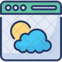 Weather Browser Icon