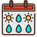 Weather Calendar Icon