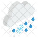 Downpour Rain Rainstorm Icon