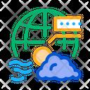 Climatology Science Education Icon