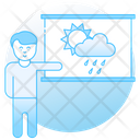Weather Forecast Weather Prediction Climate Forecasting Icon