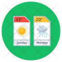 Weather Forecast Meteorology Weather Prediction Icon