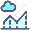 Cloud Graph Chart Icon