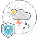 Weather Insurance Icon