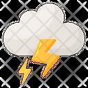 Weather Lightning Icon