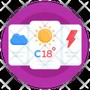 Weather Forecast Weather App Weather Overcast Icon
