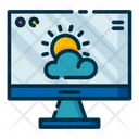 Weather Site Weather Website Weather Webpage Icon