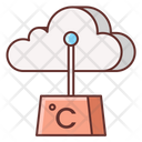 Weather Station Anemometer Atmospheric Equipment Icon