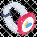 Weather Tracker Smartwatch Weather Forecast Icon
