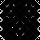 Weaving Textile Texture Icon