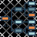 Web Flow Chart Icon