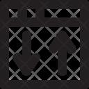 Upload Download Web Icon