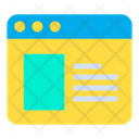 Web Page Website Online Icon