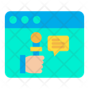 Online News Live News News Chat Icon