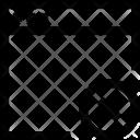 Web Browser X Icon