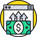 Online Payment Web Dollar Icon