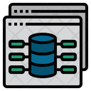 Web Web Database Online Database Icon