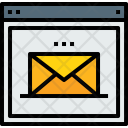 Web Browser Mail Icon